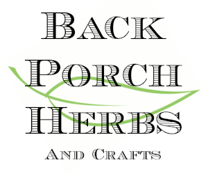 back porch herbs logo